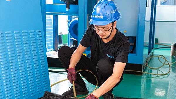 如何正确维护和保养螺杆空压机